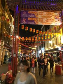 My husband & I needed some alone time from his mom, and we discovered Chinatown which was great for a late night stroll