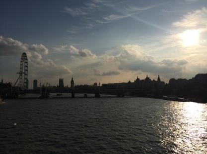 A view over the Thames.