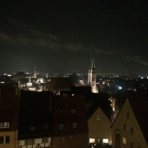 The Nuremberg skyline