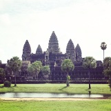 Angkor Wat in the mid-morning light