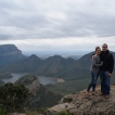 Looking out over the Blyde River Canyon
