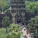 The main gate of Angkor Wat